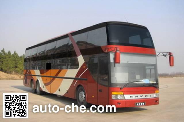 Ankai HFF6140WK86-1 luxury travel sleeper bus