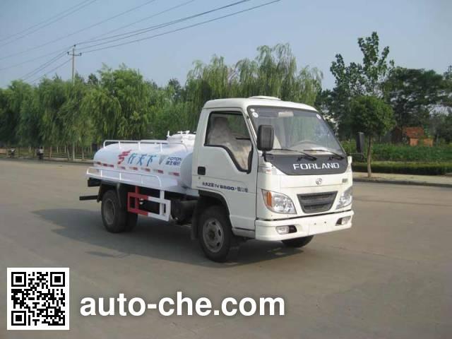 Foton Auman HFV5041TZZBJ biogas digester operation truck