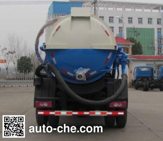 Foton Auman HFV5080GXWBJ5 sewage suction truck