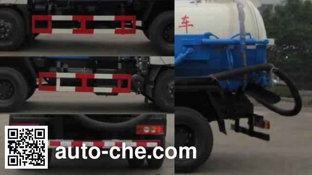 Foton Auman HFV5090GXWBJ4 sewage suction truck