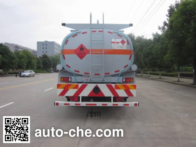 Foton Auman HFV5250GRYCQ4 flammable liquid tank truck