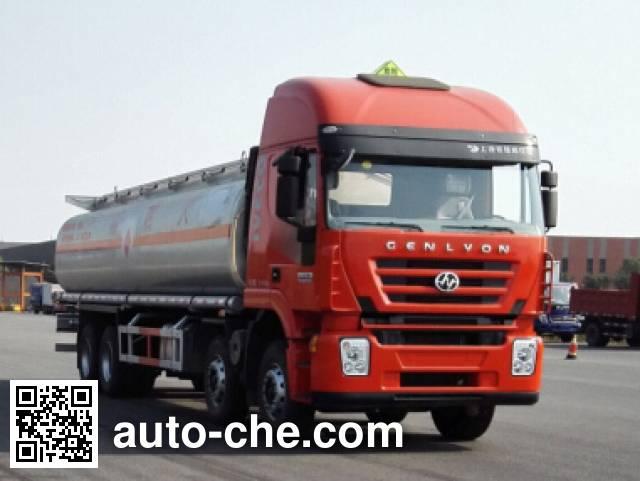 Foton Auman HFV5310GYYCQ4 oil tank truck