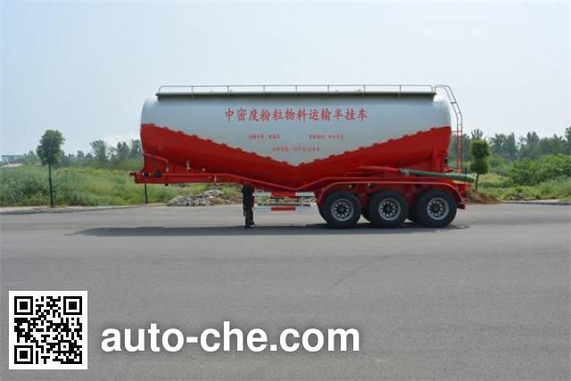 Foton Auman HFV9400GFL medium density bulk powder transport trailer
