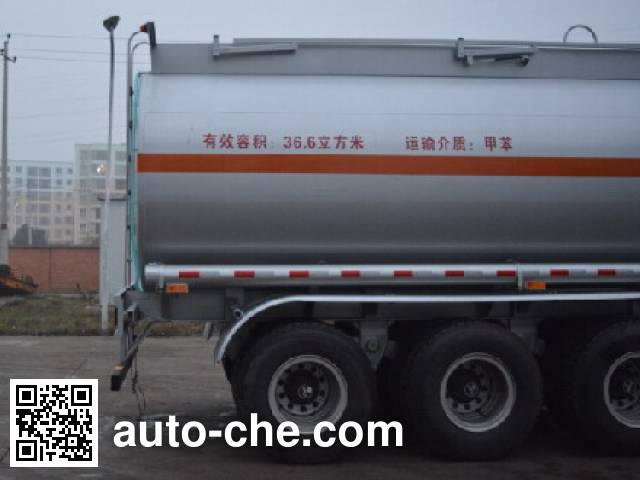 Foton Auman HFV9400GRY flammable liquid tank trailer