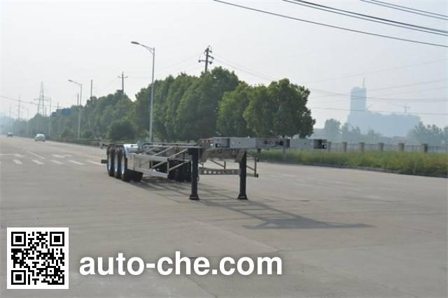Foton Auman HFV9400TJZA aluminium container trailer
