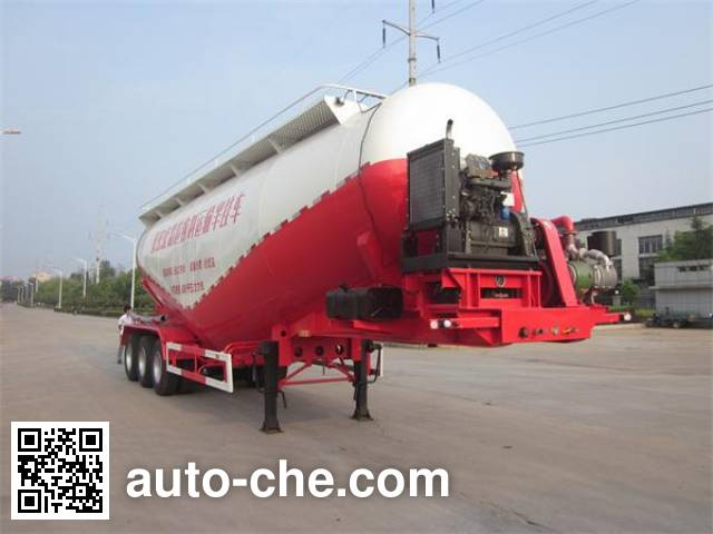 Foton Auman HFV9401GFL low-density bulk powder transport trailer
