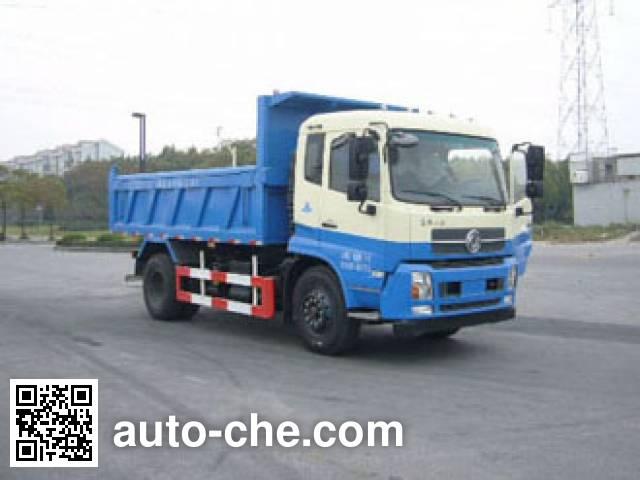 Huguang HG5162ZLJ dump garbage truck