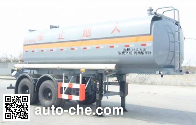 Huguang HG9210GRY flammable liquid tank trailer
