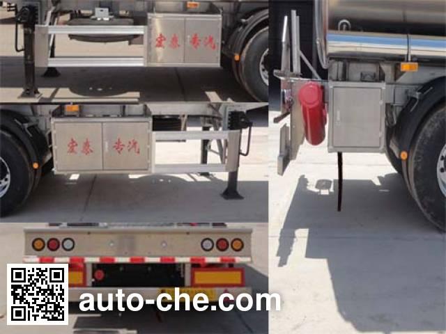 Zhengkang Hongtai HHT9402GYYA aluminium oil tank trailer