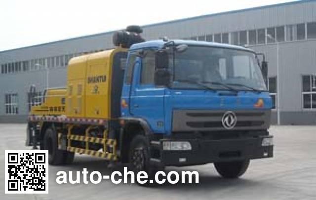 Shantui Chutian HJC5120THB truck mounted concrete pump