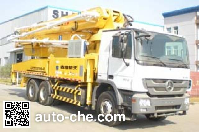 楚天牌HJC5330THB混凝土泵车