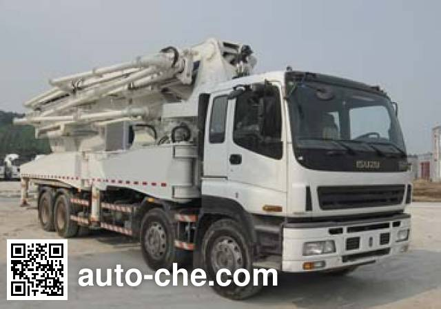 楚天牌HJC5391THB混凝土泵车