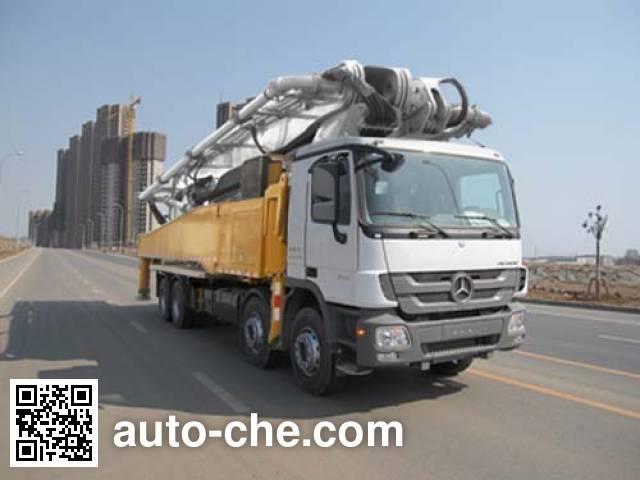 楚天牌HJC5420THB混凝土泵车