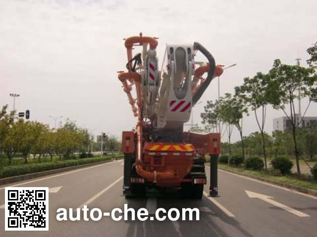楚天牌HJC5421THB混凝土泵车