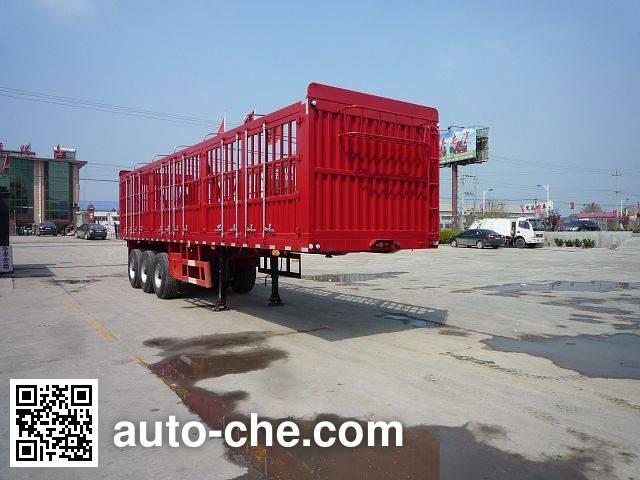 金君卫牌HJF9405CCY仓栅式运输半挂车