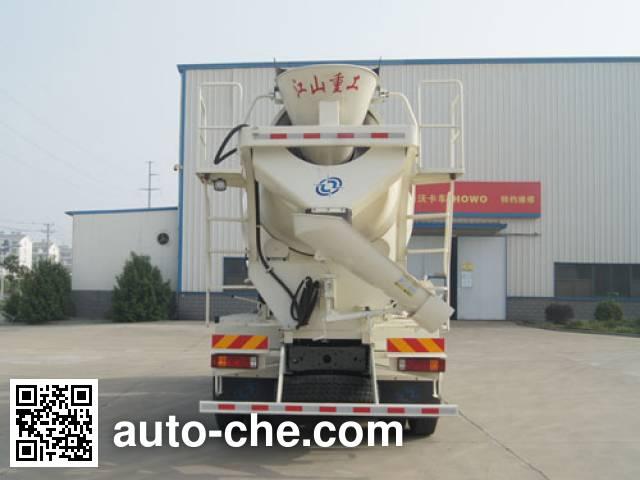 Jiangshan Shenjian HJS5256GJBY concrete mixer truck