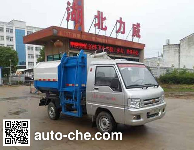 Zhongqi Liwei HLW5030ZDJ5BJ стыкуемый мусоровоз с уплотнением отходов