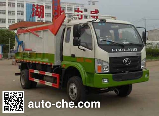 Zhongqi Liwei HLW5100ZDJH docking garbage compactor truck