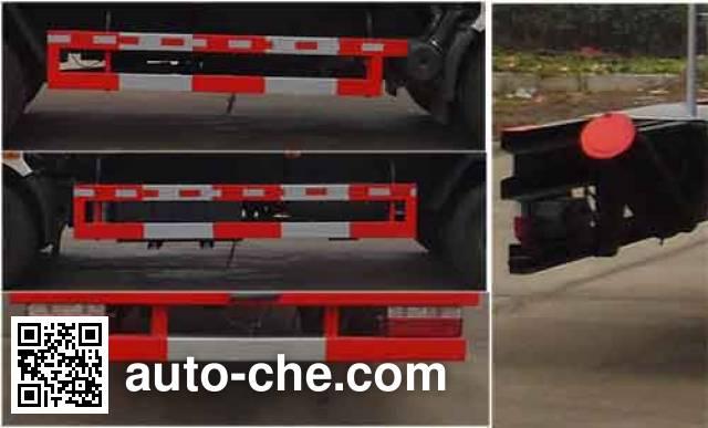 Zhongqi Liwei HLW5111TGYDFA4 oilfield fluids tank truck
