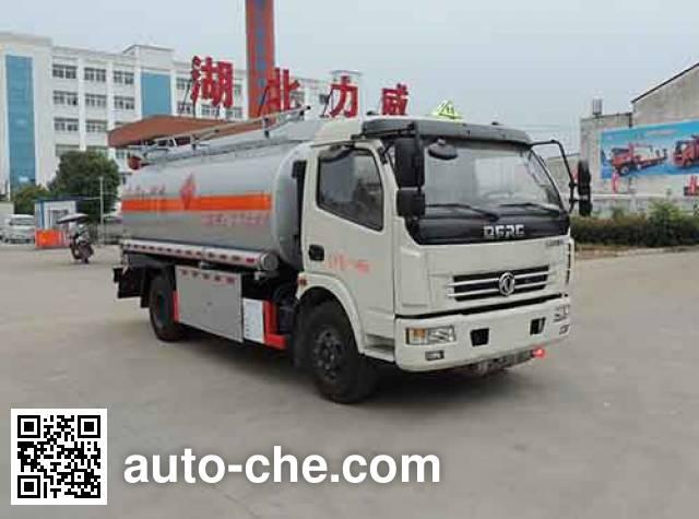 中汽力威牌HLW5112GJY5EQ加油车
