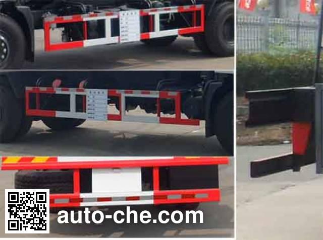 Zhongqi Liwei HLW5160GFWC corrosive substance transport tank truck