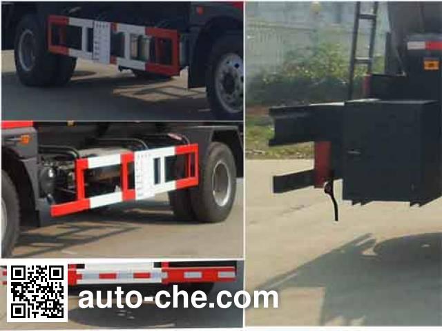Zhongqi Liwei HLW5161GFWC corrosive substance transport tank truck