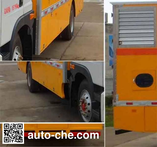 Zhongqi Liwei HLW5164XDY5EQ мобильная электростанция на базе автомобиля