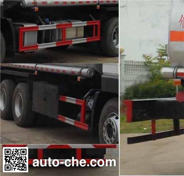 Zhongqi Liwei HLW5251TGY5HQ oilfield fluids tank truck