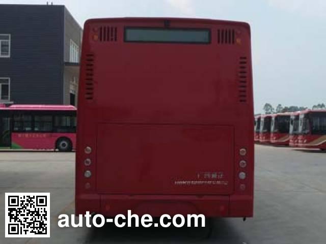 紫象牌HQK6128PHEVNG4插电式混合动力城市客车