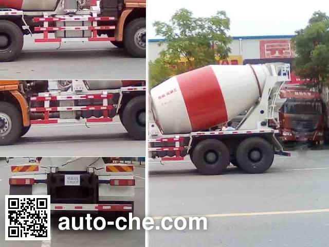 Rixin HRX5250GJB38LH concrete mixer truck