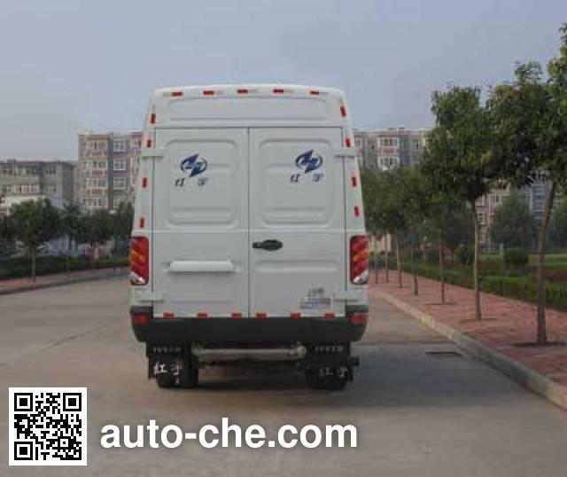 红宇牌HYJ5040XLCB5冷藏车