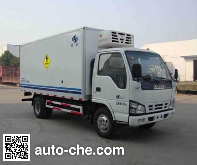 Hongyu (Henan) HYJ5040XYW oxidizing materials transport truck