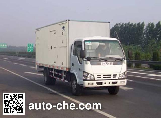 Hongyu (Henan) HYJ5070TDY мобильная электростанция на базе автомобиля