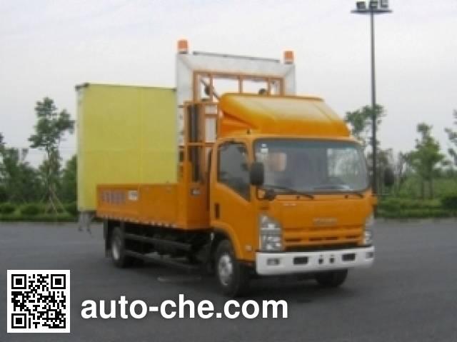 Aizhi HYL5101TFZ car crash cushion truck