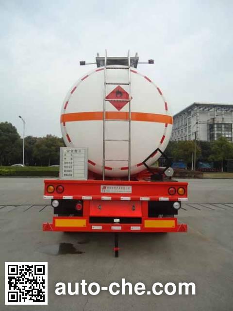 Hongzhou HZZ9400GRYB flammable liquid tank trailer