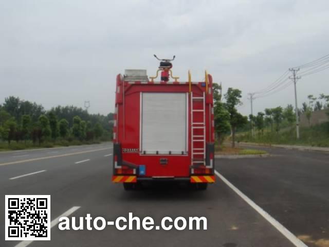 Jiangte JDF5163GXFPM50 foam fire engine