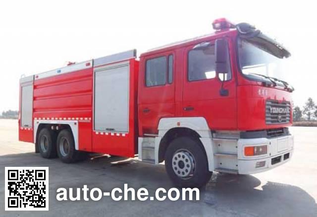 Haidun JDX5270GXFPM120Q Foam fire engine on JNP1250FD1J1