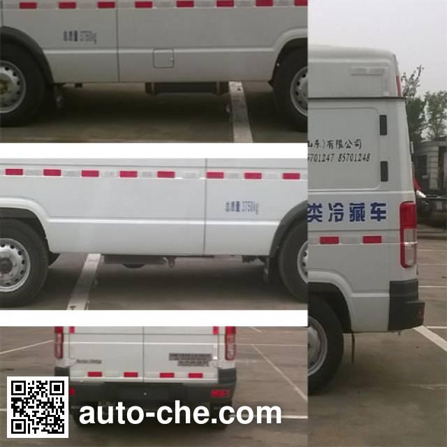 国道牌JG5040XLC4A冷藏车