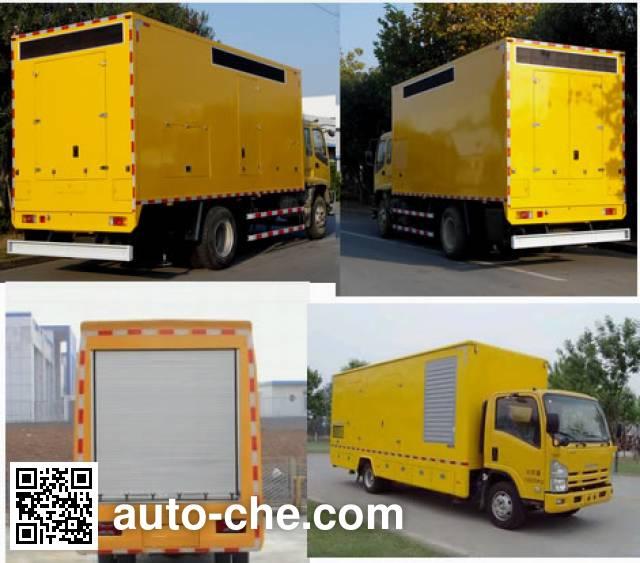 Juntian JKF5040XDY мобильная электростанция на базе автомобиля