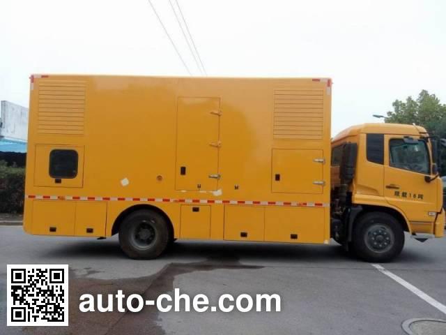 Juntian JKF5160XDY мобильная электростанция на базе автомобиля