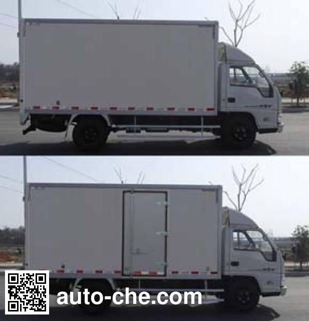 Jiangling Jiangte JMT5040XXYXGB2 box van truck
