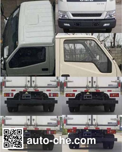 Jiangling Jiangte JMT5042XLCXG2 refrigerated truck