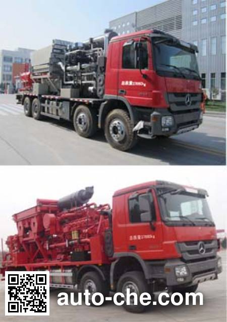 Jereh JR5382TYL fracturing truck