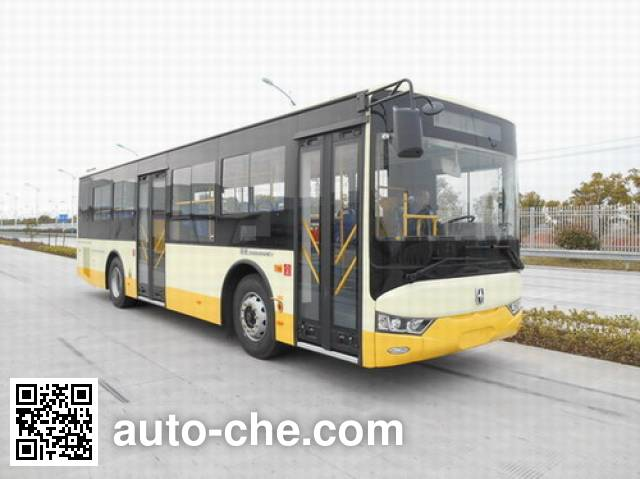 亚星牌JS6108GHEV7插电式混合动力城市客车