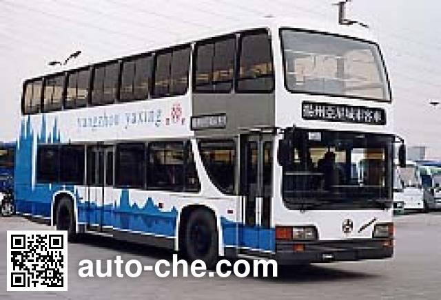 亚星牌JS6110SD2双层客车