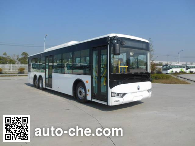 亚星牌JS6122GHBEV1纯电动城市客车