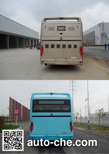亚星牌JS6128GHEVC1混合动力城市客车