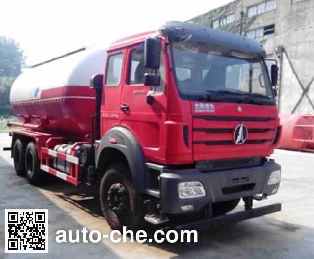 Sanji JSJ5256GXH4 pneumatic discharging bulk cement truck