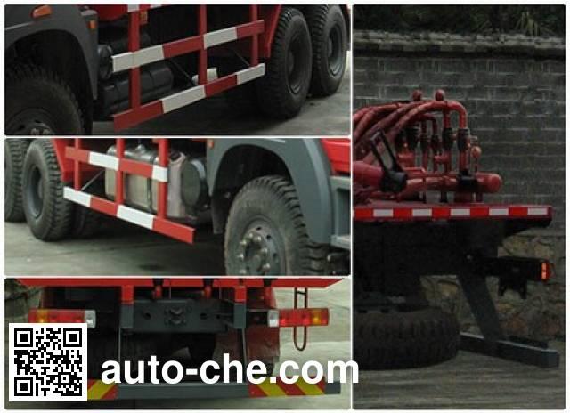 Sanji JSJ5259GXHL pneumatic discharging bulk cement truck