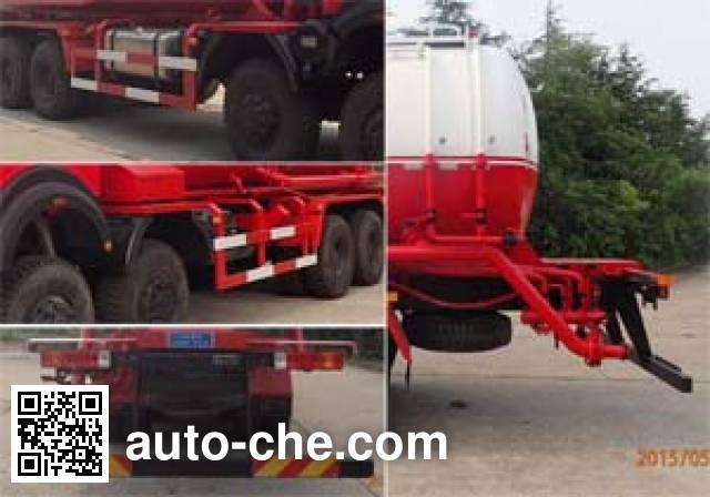 Sanji JSJ5311GXH4 pneumatic discharging bulk cement truck